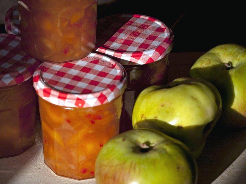 džem od jabuka