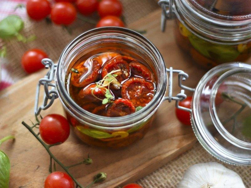 sušene rajčice u ulju