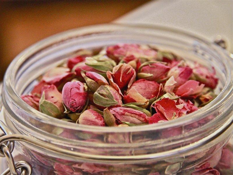 sušene ruže